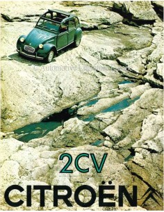 1969 CITROEN 2CV BROCHURE NEDERLANDS