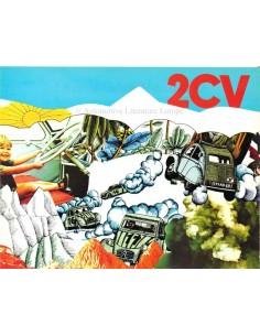 1971 CITROEN 2CV PROSPEKT NIEDERLÄNDISCH