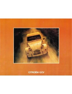 1973 CITROEN 2CV BROCHURE GERMAN