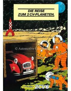 1983 CITROEN 2CV6 BROCHURE GERMAN