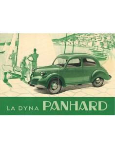 1948 PANHARD DYNA DATENBLATT FRANZÖSISCH