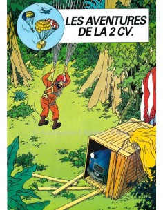 1985 CITROEN 2CV6 BROCHURE FRENCH