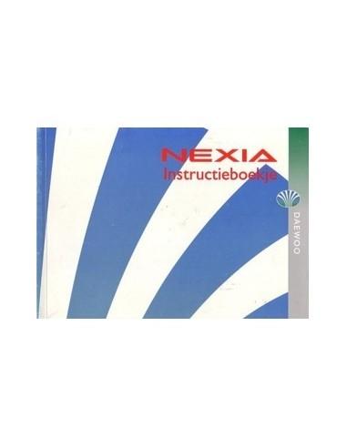 1995 DAEWOO NEXIA INSTRUCTIEBOEKJE NEDERLANDS
