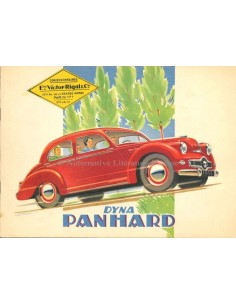 1953 PANHARD DYNA BROCHURE FRENCH