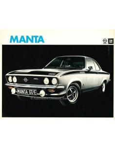 1975 OPEL MANTA BROCHURE DUTCH