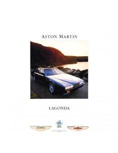 1987 ASTON MARTIN LAGONDA BROCHURE GERMAN