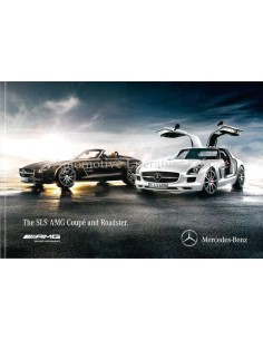 2013 MERCEDES SLS AMG COUPÉ & ROADSTER BROCHURE ENGLISH