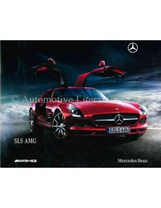 2009 MERCEDES-BENZ SLS AMG BROCHURE GERMAN