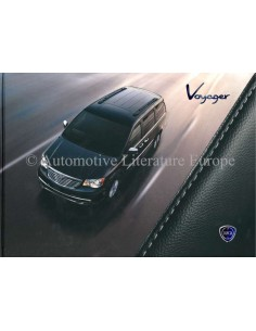 2011 LANCIA VOYAGER HARDBACK BROCHURE ENGLISH