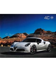 2013 ALFA ROMEO 4C LAUNCH EDITION LEAFLET