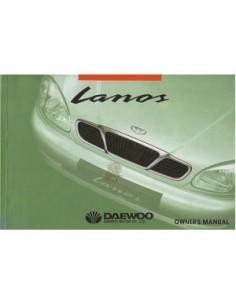 2000 DAEWOO LANOS INSTRUCTIEBOEKJE ENGELS