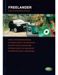 2004 LAND ROVER FREELANDER AUDIO & NAVIGATIONSYSTEM BETRIEBSANLEITUNG NIEDERLÄNDISCH