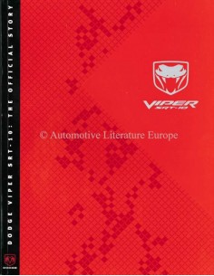 2003 DODGE VIPER PROSPEKT ENGLISCH