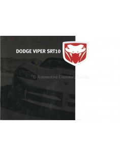 2005 DODGE VIPER BROCHURE NEDERLANDS