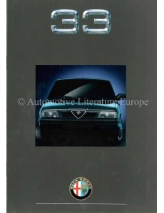 1990 ALFA ROMEO 33 BROCHURE DUTCH