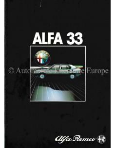 1983 ALFA ROMEO 33 BROCHURE DUTCH