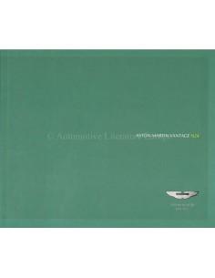 2008 ASTON MARTIN VANTAGE N24 BROCHURE ENGLISH