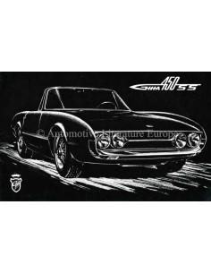 1966 GHIA 450 SS PROSPEKT ENGLISCH