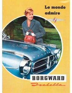 1959 BORGWARD ISABELLA BROCHURE FRENCH