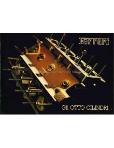 1985 FERRARI 8 CILINDERS PERSMAP ITALIAANS 367/85