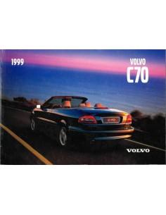 1999 VOLVO C70 BETRIEBSANLEITUNG ENGLISCH