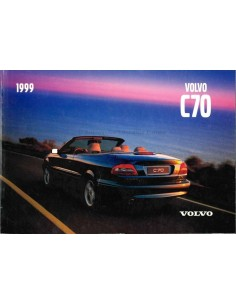 1999 VOLVO C70 OWNERS MANUAL ENGLISH