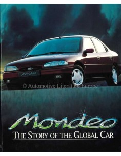 FORD MONDEO - THE STORY OF THE GLOBAL CAR - AUTOBOEK