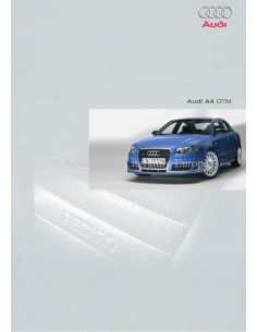2005 AUDI A4 BROCHURE DUTCH