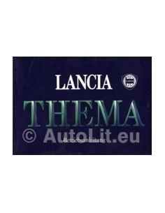 1985 LANCIA THEMA OWNERS MANUAL HANDBOOK GERMAN