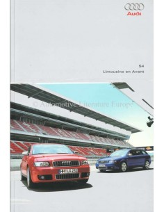 2002 AUDI S4 BROCHURE DUTCH