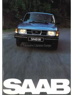 1982 SAAB 99 BROCHURE DUTCH