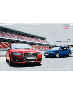 2004 AUDI S4 BROCHURE GERMAN