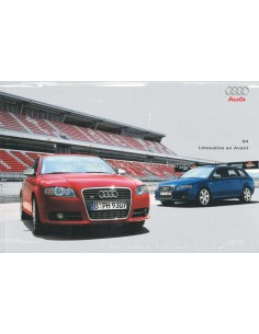 2004 AUDI S4 BROCHURE DUTCH