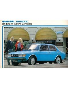 1982 SAAB 99L SPECIAL BROCHURE GERMAN