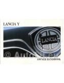 2001 LANCIA Y INSTRUCTIEBOEKJE ENGELS