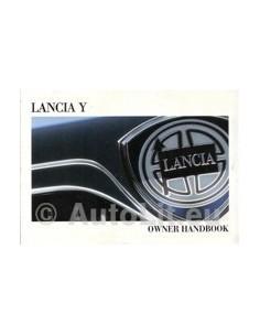 2001 LANCIA Y OWNERS MANUAL ENGLISH