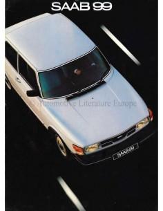 1981 SAAB 99 BROCHURE DUTCH