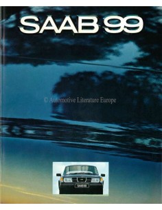 1980 SAAB 99 BROCHURE NEDERLANDS