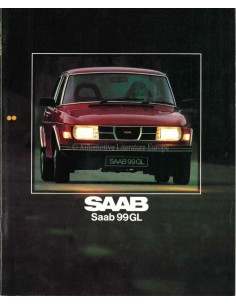 1980 SAAB 99 GL BROCHURE DUTCH