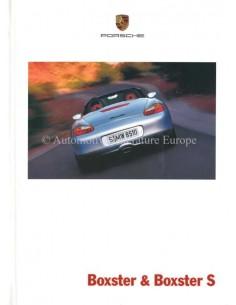 2001 PORSCHE BOXSTER S HARDCOVER PROSPEKT NIEDERLÄNDISCH