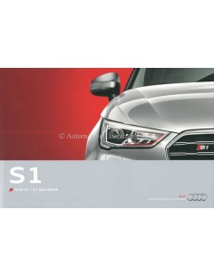 2014 AUDI S1 BROCHURE DUTCH
