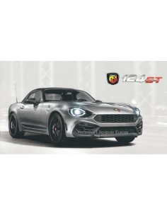 2018 ABARTH 124 GT BROCHURE GERMAN