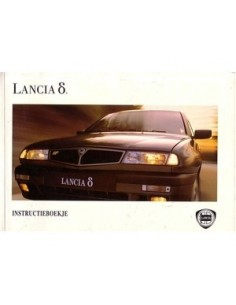 1993 LANCIA DELTA OWNERS MANUAL HANDBOOK DUTCH