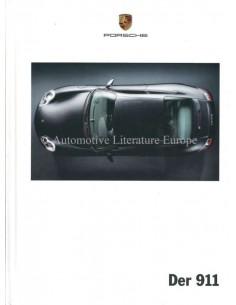 2001 PORSCHE 911 CARRERA HARDCOVER PROSPEKT DEUTSCH