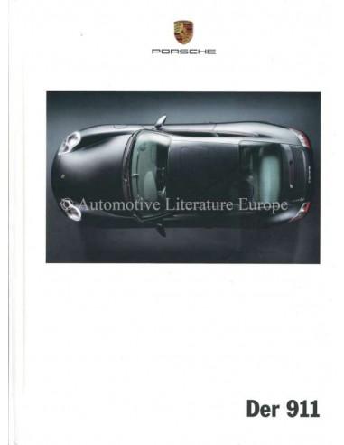 2000 PORSCHE 911 CARRERA HARDCOVER BROCHURE DUITS