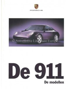 1999 PORSCHE 911 CARRERA HARDCOVER BROCHURE NEDERLANDS