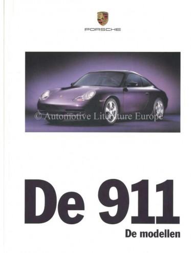 1999 PORSCHE 911 CARRERA HARDCOVER BROCHURE NEDERLANDS