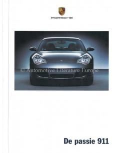 2003 PORSCHE 911 CARRERA HARDBACK BROCHURE DUTCH