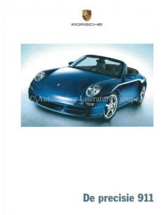 2005 PORSCHE 911 CARRERA HARDCOVER BROCHURE NEDERLANDS