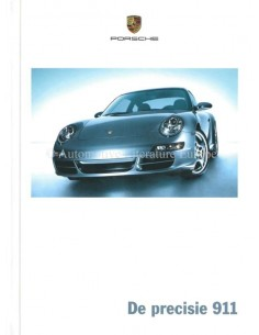 2005 PORSCHE 911 CARRERA HARDBACK BROCHURE DUTCH